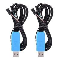 Sumind Câble de débogage pour Raspberry Pi Programmation USB Câble série USB à TTL  Caractéristiques: Utile et pratique: Il fournit une solution pratique pour connecter un périphérique série asynchrone full-duplex RS232 à n'importe quel hôte compatib...