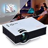 Kinlo® Projector 1920x1080 Full HD LED LCD TFT Display 800: 1 Kontrast HOME Cinema Theater Movie HD Projektor