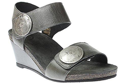 Ca Shott 8026 - Damen Schuhe Sandale Keilsandalette Silber wi7mM7GcaU