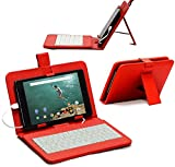 Navitech Enfants tablettes 38 - ARCHOS 101e Neon Red