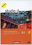 Studio: Die Mittelstufe: B2: Band 1 und 2 - Unterrichtsvorbereitung interaktiv auf DVD-ROM (Schullizenz): Mit Kurs- und Übungsbuch für Whiteboard oder Beamer