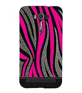 PrintVisa Designer Back Case Cover for Asus Zenfone 2 Laser ZE550KL (5.5 Inches) (Wavy Stripes)