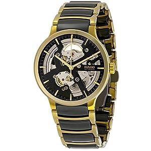 Rado Men's Gold Tone Steel Bracelet & Case Automatic Analog Watch R30180162