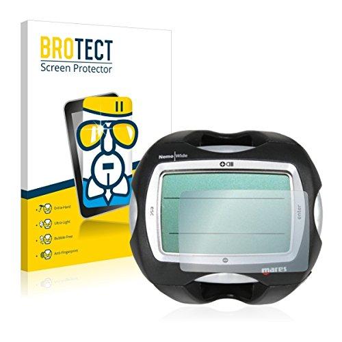 BROTECT Premium AirGlass Film de Protection en Verre Mares Nemo Wide 2 (extrêmement résistant, Ultra-Fin, Haute Transparence, revêtement Anti-Traces de Doigts, Application sans Bulles d'air)
