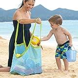 ZHLL extra large Beach mesh Tote spiaggia giocattoli della borsa Stay away from Sand Lightweigh Toy organizer Storage Bag, perfetto per giocattoli bambini in azienda