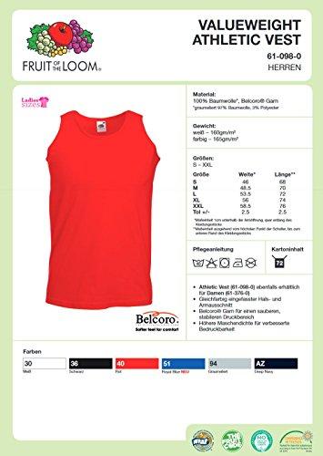 Hotrod Athletic Vest Shirt Motiv Iron Cross Fuzzy Dice für Us Car und Hot Rod Fans Tank Top, Trägershirt, Muskelshirt Weiß / Schwarz