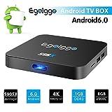 Android 6.0 TV BOX 1G/8G S95X Amlogic S905X Quad Core 4K WiFi 802.11b/g/n H.265 Smart TV Box