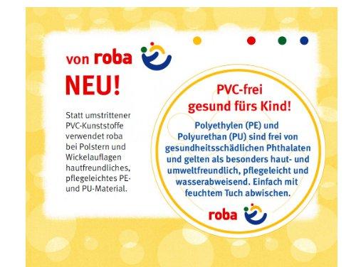 roba-Wickelauflage-Dschungelbaby-73x75cm-weiche-Wickelunterlage-Wickeltischauflage-PU-beschichtet