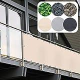 casa pura Brise Vue Balcon - Pare-Vue PVC | Brise Vue Occultant | Protection Visuelle...