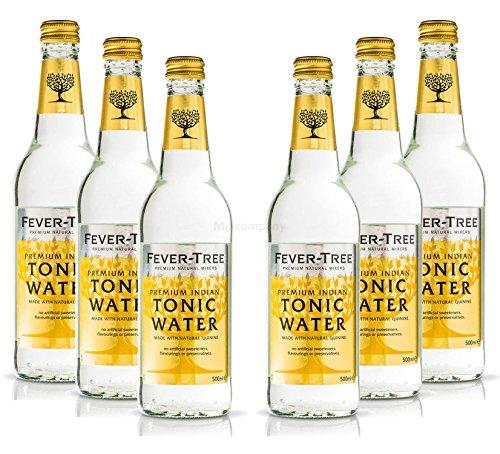 fever tree mediterranean tonic Fever-Tree Premium Indian Tonic Water 6x 500ml = 3000ml