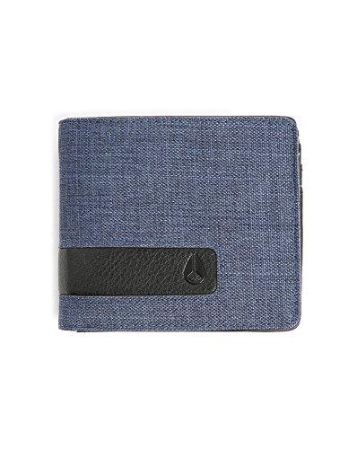 Nixon Showtime Id Brieftasche All Black - Brieftasche Herren Blue Wash