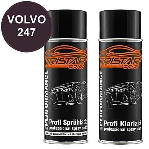 Spraydosen Set VOLVO 247 BLACKBERRY / MAUVE 1999 - 2003
