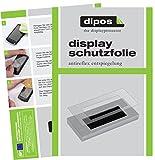 dipos I 2X Schutzfolie matt passend für Jura A-Serie A1 A5 A7 A9 Tropfblech Folie Displayschutzfolie