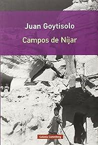 Campos de Níjar par  Juan Goytisolo