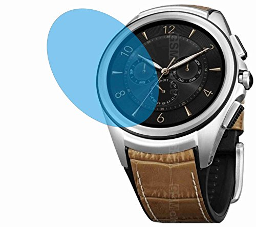 Lg 3-ladestation (LG Watch Urbane 2nd Edition (4 Stück) KRATZFESTE PREMIUM Displayschutzfolie Bildschirmschutzfolie ANTIREFLEX Schutzhülle Displayschutz Displayfolie Folie)