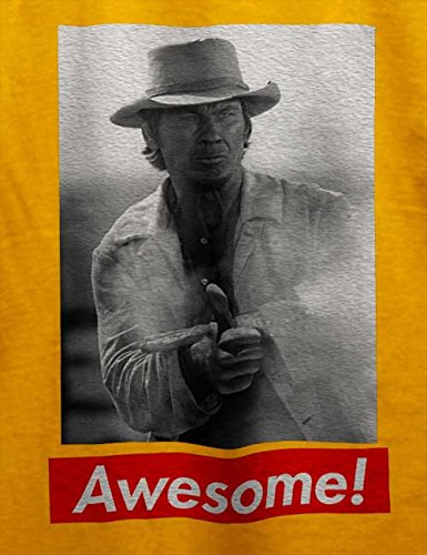 Awesome 03 T-Shirt Gelb