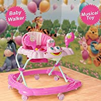 Baby Boy/Girl Walker First Steps Activity Bouncer Musical Toy Push Along Ride On Bright R&K 5