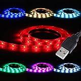 Liqoo® 100cm 1m RGB USB 2.0 LED Strip Streifen Leiste