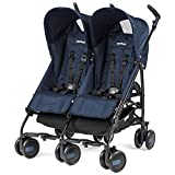 Peg Perego Passeggino Pliko Mini Twin, Geo Navy