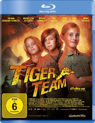 Tiger Team - Der Berg der 1000 Drachen [Blu-ray] (Iris Tiger)