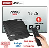 3GB RAM 32GB ROM Mecool M8S PRO L Voice Control Function TV Box 4K TV Box Android 7.1 Amlogic S912 Set Top Box 4K Media Player