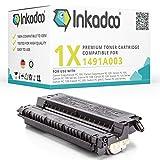 Inkadoo Toner passend für Canon FC 120 kompatibel zu Canon CRGE30, E16 & E30, E30, EPE30 1491A003 1491A003AA - Premium Drucker-Kartusche Alternativ - Schwarz - 4000 Seiten