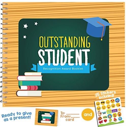 Best Student Award Booklet–personalisiertes Geschenk Ideen für Universität, High School oder Uni Studenten.