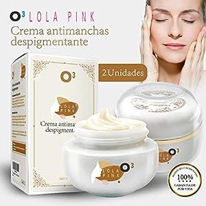 O³ Crema Antimanchas Facial – 2 Unidades x 30 g – Cosmética Anti-Manchas | Despigmentante Facial Para La Cara – Crema…