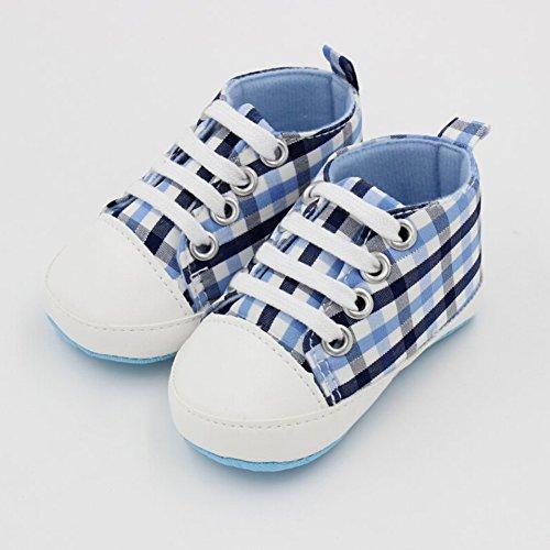 Junge Schuhe Sohle Rutschfester Krabbelschuhe Blau turnschuh Baby Segeltuch Weiche Mädchen Kinder Himmel q5gS0