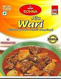 Sohna Ready To Eat -Alu Wari (850 Gram) Pack Of 1- Sbtm