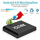 Android 6.0 TV-Box, AX5 Amlogic S905X Quad Core A53 2 GB RAM + 16 GB ROM Unterstützung 4K 2K H.265 2.4G WI-Fi Smart Media Player