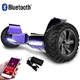 RCB Hoverboard Scooter elettrico fuoristrada Scooter 8.5 '' Hummer LED APP...