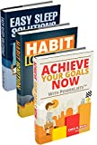 Unlocking Potential: Achieve Your Goals Now with PowerLists, Habit Ignition, Easy Sleep Solutions (Goal Achievement, Habit Building, Better Sleep, Self Improvement) (English Edition)
