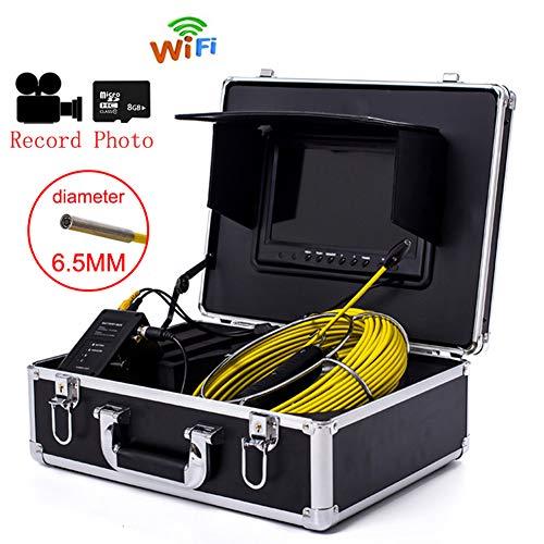 Línea tubería inspección cámara WiFi, 6.5 mm Drenaje