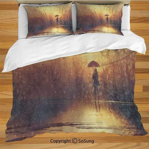 Juego de funda nórdica de ropa de cama moderna