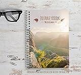 Reisetagebuch Neuseeland zum selberschreiben/als Abschiedsgeschenk