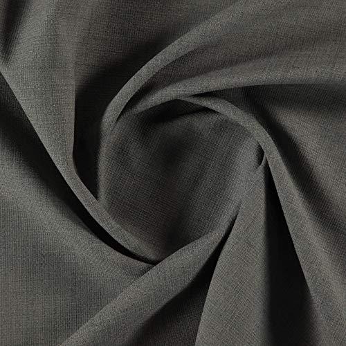 Luisa 014-98% Polyester, 2% Baumwolle, einfarbig, Grau Luisa Satin