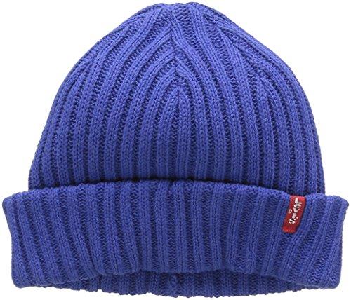 levis-mens-ribbed-beanie-beanie-blue-royal-blue-one-size
