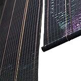 Bambusrollo Bamboo Roller Shades 60% Lichtfilter-Sichtschutz, Bambusrollos Mit Seitenzug Für Fenster Und Türen - Hebesystem-Sicherheit (größe : 60×150cm)