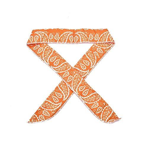 Summer Cooling Scarf Outdoor Stirnband Schal Cooler Unisex Bandanas Armband Krawatten Wrap Sommer Strandbedarf absorbieren Wärme Stirnband Armband Multi Color für Sommer, Outdoor-Aktivitäten & Sport -