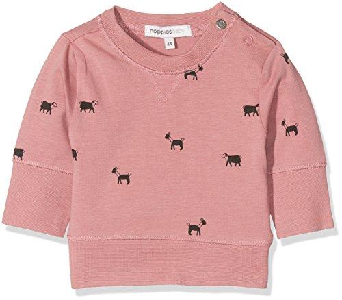 Noppies Unisex Baby Sweatshirt U Sweater Guymon, Rosa (Old Pink C104), 62