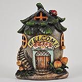 Small Mystical Nut House Garden Indoor LED Licht Decor-batteriebetrieben Elf Pixie Home 11