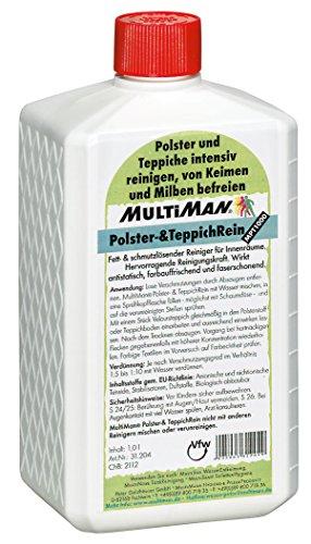 MultiMan Polster- und TeppichReiniger, Inhalt:1 l
