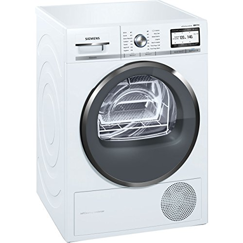 Siemens WT4HY791GB Freestanding A++ Rated Condenser Tumble Dryer in White