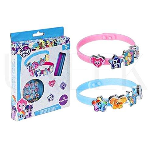 My Little Pony Deluxe, Bastelset Lizzy®, Armband zum Selbermachen - 21-teiliges Charm-/Armreif-Set