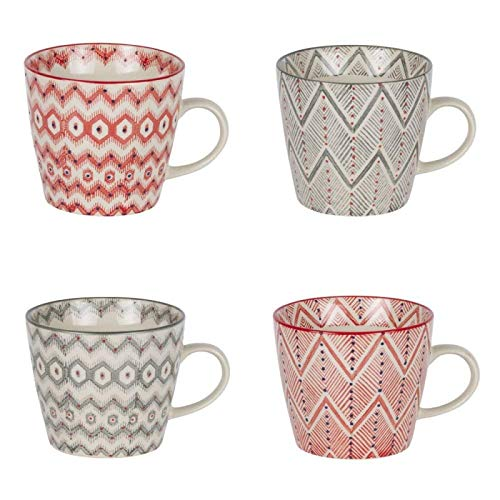 TABLE PASSION - COFFRET 4 TASSES SANTA FE