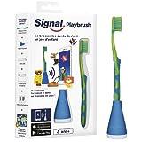 Signal Playbrush - Spazzolino da denti connesso, per bambini, colori assortiti