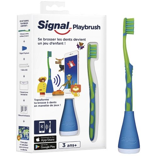Signal Playbrush Brosse à Dents Enfant Connectée x1 - Modèle Aléatoire