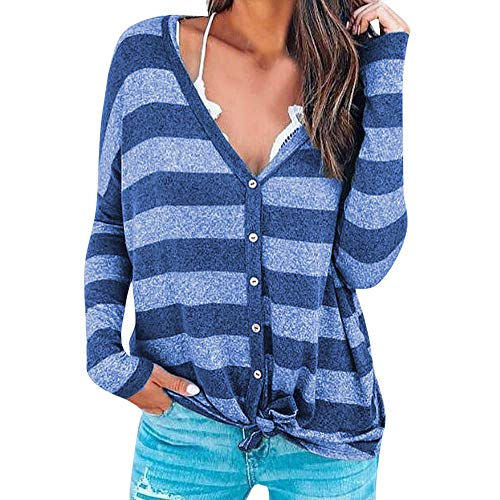 Damen Pullover Sweatshirt Jumper Lose Elegant Herbst Winter -