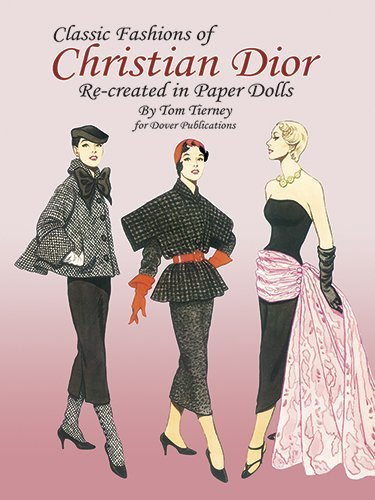 Christian Dior Fashion Review Paper Dolls (Dover Paper Dolls) by Tom Tierney (30-Jul-2007) Paperback -